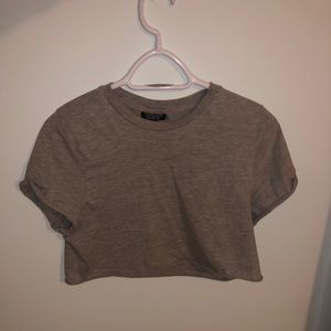 Cropped TOPSHOP T-shirt